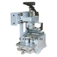 competitive price manual mini ink tray pad printing machine for sale