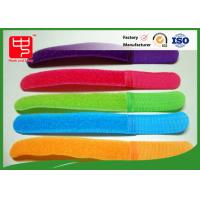 Wholesale Colorful Male And Female Hook And Loop Cable Tie Roll For Manage Tie , Silk Printing from china suppliers