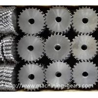 China Alloy Steel Chain Sprocket Wheel Flat - Top Conveyor Sprockets Abrasion Resistant wholesale