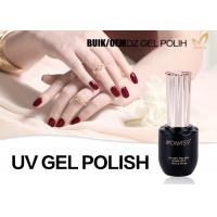 Quality Odorlessness Uv Cured Gel Nail Polish Nail Varnish Gel Superior Performance for sale