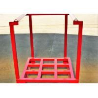 Buy cheap Steel Powder Coating Pallet Stacking Rack Pallet Stacking Frames from wholesalers