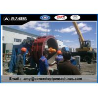 China Customized Diameter Hume Pipe Making Machine 6-10/Hour Production Capacity wholesale