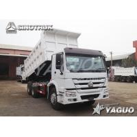 China HOWO 6x4 ENGINE POWER 336HP, 19CBM, LOAD 30TON TIPPER wholesale