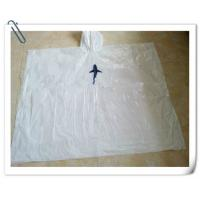 Wholesale Disposable White PE Poncho from china suppliers