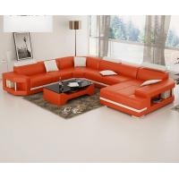 Wholesale orange color comfortable modern sofa FA034 from china suppliers