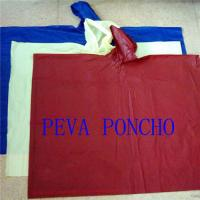 Wholesale 100% PEVA Rain Poncho from china suppliers