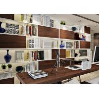 Buy cheap Imitation Walnut Color PVC Material Self Adhesive Wallpaper With 0.45*10M Size from wholesalers