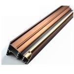 Wholesale 6063 U Shaped Aluminium Profile , Mechanically Polished Aluminium Corner Profile Joint from china suppliers