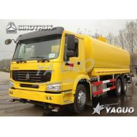 Wholesale HOWO 6x4 ENGINE POWER 290HP, WATER VOLUME 20-25CBM WATER TANK TRUCK from china suppliers