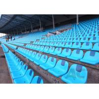 School Stadium Seating Chairs , Indoor Sports Plastic Stadium Seats Long Lifespan