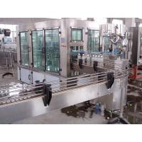 High Capacity Water Bottle Filler Machine With 5000-10000 Bottles Per Hour 3 In 1