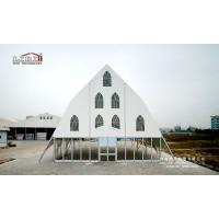 2017 New Design Clear Span Church Tents with Glass Walling System for ceremony