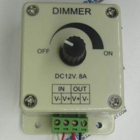Wholesale Cheapest DC 12V-24V Inline led light dimmer/led strip dimmer from china suppliers