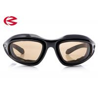 Dustproof Motorcycle Riding Sunglasses With Interchangeable Lenses, High Impact Safety Goggles