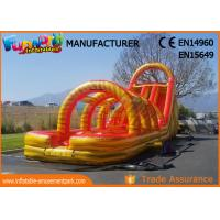 Buy cheap 0.55mm PVC Tarpaulin New Inflatable Slide Jumping Castles Inflatable Water Slide from wholesalers