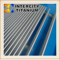 Custom made China manfufacture ASTM B348 Gr2  titanium rod from baoji