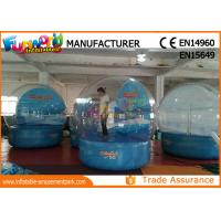 Wholesale 0.6mm PVC tarpaulin Inflatable Giant Snow Globe Ball for Christmas from china suppliers