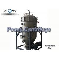 PNYB Series Hot Sell Vertical Type Pressure Leaf Filter for Different Purposes