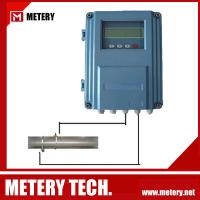 Wall mounted ultrasonic flow meter MT100FU series from Metery Tech.
