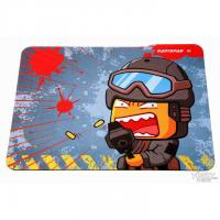 Eco-friendly Natural Rubber Mouse Mats, Computer Gaming Mousepad