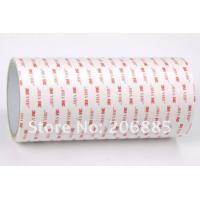 China Die Cut Adhesive Material White Double Sticky Arcylic Foam Tape 3M4920 wholesale