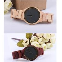 Wholesale Fashion Charming Bewell Mens Wooden Watch 100% Natural Wood With Miyota 2035 from china suppliers