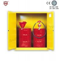 Wholesale Steel Hazardous Chemical Drum Corrosive Storage Cabinet 3-point self-latching For Flammable Liquids from china suppliers