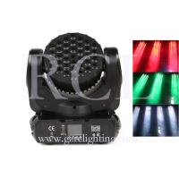 Wholesale RGBW 36pcs 3W Cree Bulbs Beam Moving Head stage lighting for KTV DISCO LED Stage Light LED moving head light AC100 – 240 from china suppliers
