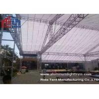 Wholesale Lighting Bolt Aluminum Stage Truss , Heavy Tudy Aluminum Roof Truss Long Life Span from china suppliers