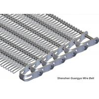 Wire Mesh SS Belt Conveyors Oxidation Proof , Stainless Steel Conveyor Chain Belt
