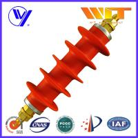 Wholesale Professional Switching Red Polymer Surge Arrester 54KV in Substation from china suppliers