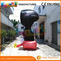 Wholesale 4m Height Advertising Inflatables Yamaha Shape Red and Black from china suppliers