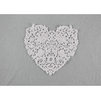Wholesale Guipure French Venice Lace Collar Cotton Lace Heart Applique For Wedding Dresses from china suppliers