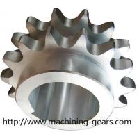 China Large Diameter Stainless Steel Conveyor Chain Sprocket ISO 9000 Certificated wholesale