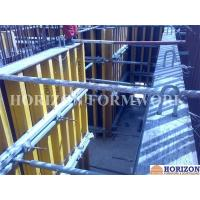 Wholesale Concrete Wall FormsHorizontal Push-Pull Prop Steel Pipe Q235 Galvanized Finishing from china suppliers