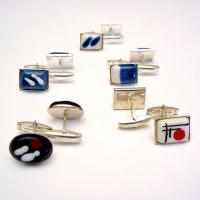 Fashion Cuff Links and Tungsten Cuff Links & Tie Clips