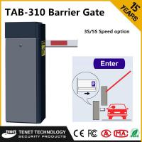 Wholesale Factory Remote Control Automatic Barrier Gates , Straight Boom Traffic Barrier Gates in 3m / 5m / 6m from china suppliers
