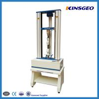 Wholesale 2 Pole Panasonic Servo Motor Leather Universal Testing Machines with High Speed 0.1 - 500mm/min from china suppliers