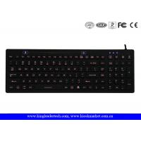 China Durable Industrial Waterproof Keyboard , Blue or Customized Backlight wholesale