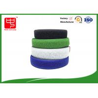 Wholesale Two sided hook and loop sew on hook and loop tape various color 25m / roll from china suppliers