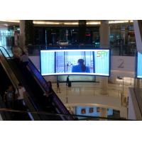 P3 Advertising Curved LED Screens / concert led curved display High Brightness