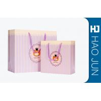 Wholesale Durable Cardboard Gift Bags / High End Paper Grocery Bags With Handles from china suppliers