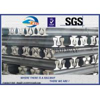 China Chinese standard Light Rail, steel crane rail for railway construction wholesale