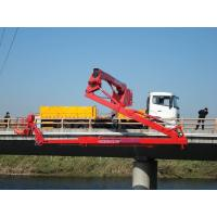 China 6x4 Bucket Type Bridge Inspection Equipment 16M DongFeng , Folding Platform wholesale