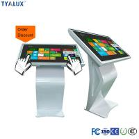 China 1080P 47 Inch Floor Stand IR Touch Screen LED Backlight Panel Digital Signage wholesale