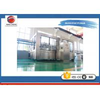 Monoblock Auto Water Filling Machine 9.5KW Filling Heads 40 High Stability