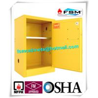 Flammable Liquid Safety Storage Cabinets Adjustable Shelf For Chemical Hazardous Goods