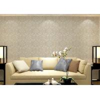 China Colorful luxury wallpaper for walls , Floral sticky back wallpaper house design wholesale