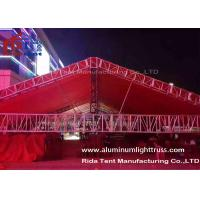 Hard Welding Used Aluminum Truss , Anti - Rust Used Roof Truss Equipment For Rental Business