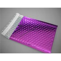 Wholesale Multi Colored Purple Metallic Bubble Mailers 220x275 #B5-3 For Transport from china suppliers